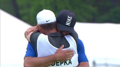 Koepka's winning moment!
