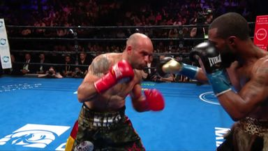 Russell Jr too much for Martinez