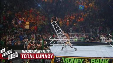 WWE Top 10: Massive Money in the Bank falls