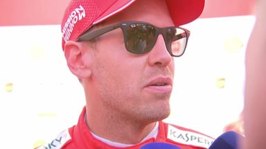 Vettel explains Ferrari weaknesses