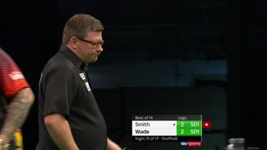 Wade's 144 checkout