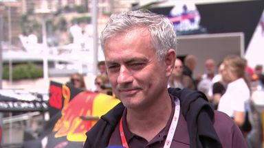 Jose Mourinho at the Monaco GP!