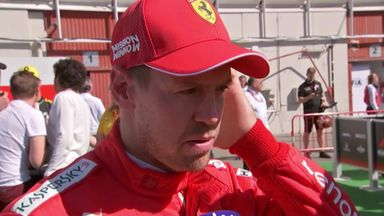 Difficult day for Vettel