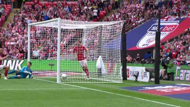 Charlton equalise at Wembley!