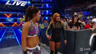 Becky, Bayley join forces