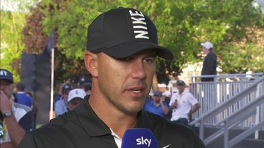 Koepka happy to grind it out