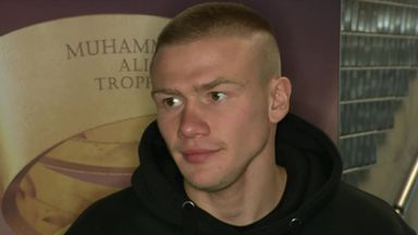 Baranchyk: Crowd won't affect me