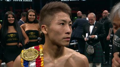 Inoue: I planned to be aggressive