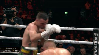Taylor knocks down Baranchyk