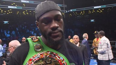 Wilder: AJ fight will happen