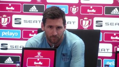 Messi: Blame players for Liverpool loss