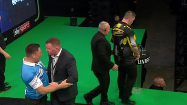 Bust-up at the darts!