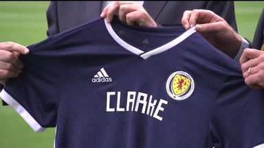 Clarke unveiled as Scotland boss
