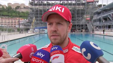 Tricky weekend for Vettel