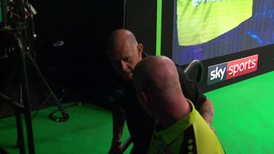 MVG and Gurney unhappy at break