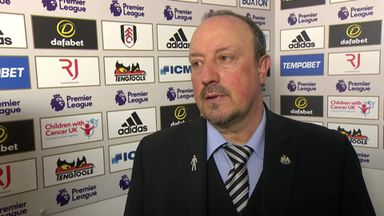 Benitez: Proud of my players