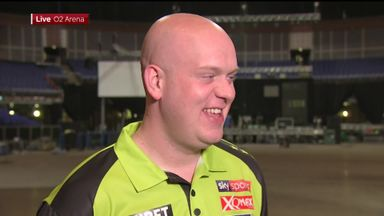MVG 'feeling good' ahead of finals