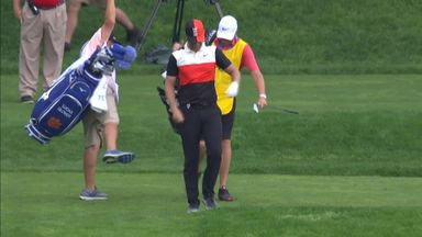Bjerregaard's stunning hole-in-one!