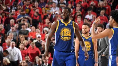 Red-hot Draymond finishes off Blazers