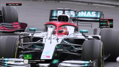 Hamilton's agitated radio calls