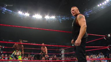 Did Lesnar cash-in on Raw?