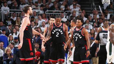 Lowry: Kawhi 'best two-way player' in NBA