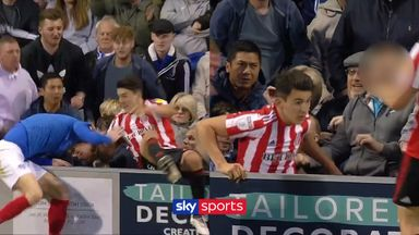 Fan attacks Sunderland's O'Nien