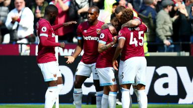 West Ham 3-0 Southampton
