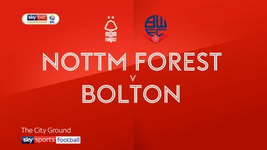 Nottingham Forest 1-0 Bolton