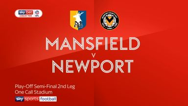 Mansfield 0-0 Newport (AET) 3-5 pens