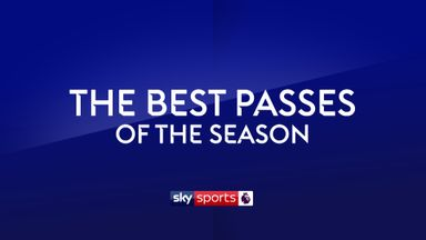 Premier League Passes of the Season