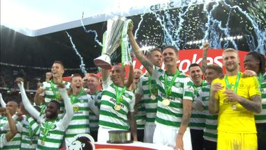 Celtic lift 8th straight league title