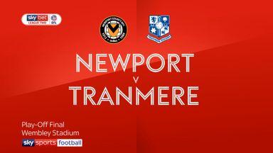 Newport 0-1 Tranmere AET