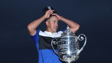 Koepka wins PGA: R4 highlights