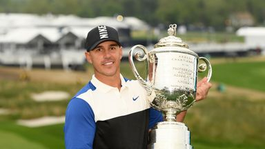 'Koepka rewriting the record books'