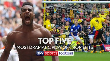 Top 5 most dramatic play-off moments