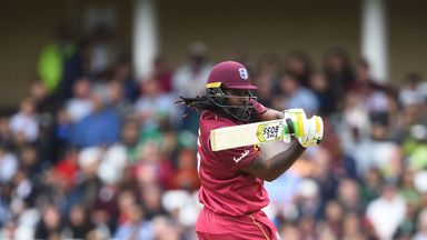 Gayle: I'm up there with the greats