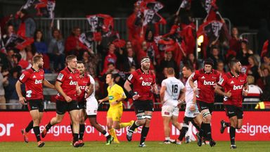 Crusaders snatch late draw against Sharks