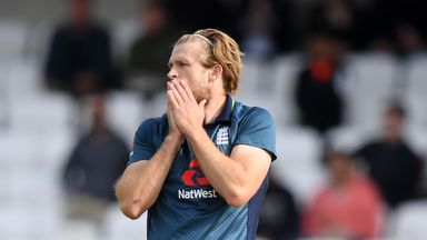 Morgan: Tough decision to omit Willey