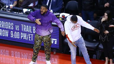 Drake gets fired up in Raptors win
