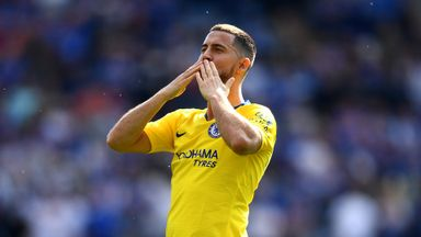 'Squad will respect Hazard decision'