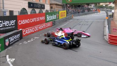 F2: Monaco Race 1 Highlights