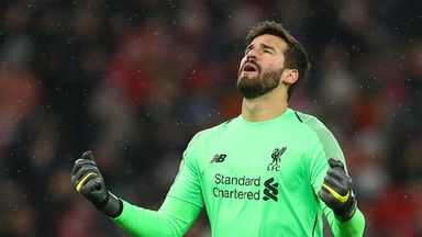 Alisson wins Best FIFA GK award but where is he?