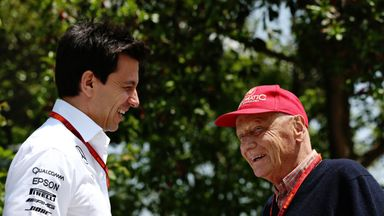 Wolff: Lauda the heart and soul of F1