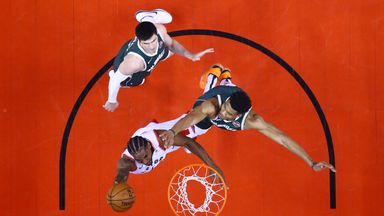 Game 3: Bucks 112-118 Raptors (2OT)