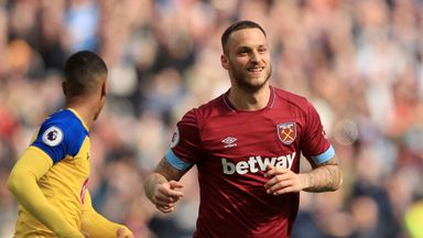 'Pellegrini to decide Arnautovic future'