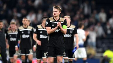 De Ligt arrives for Juve medical