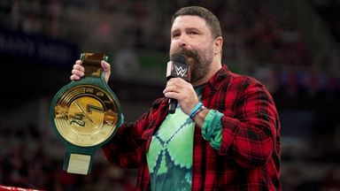 Mick Foley debuts the 24/7 Championship