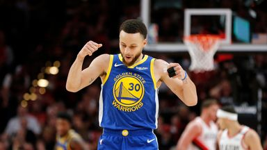 Curry scores 36 in Warriors victory