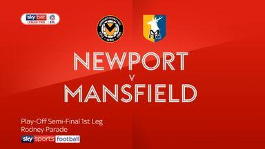 Newport 1-1 Mansfield